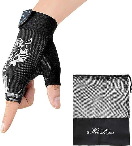 Children Kids Bike Gloves Half Finger Breathable Anti-slip For Sports Riding Cyc