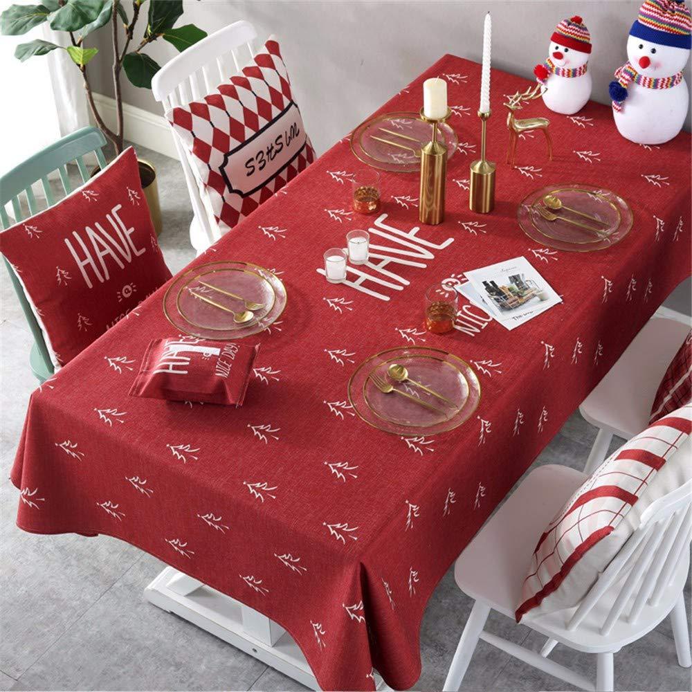 online al mejor precio ANSOST Navidad Mantel Antifouling A 140  220 Cm Cm Cm  nuevo listado
