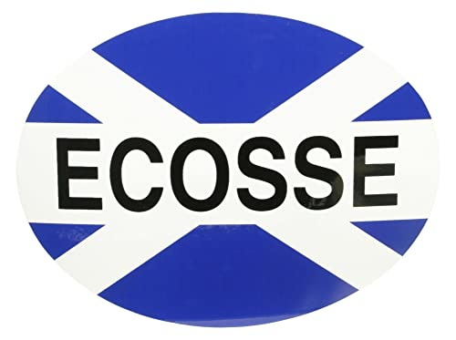 XtremeAuto® European Travelling Sticker Badge For Car / Motorbike / Caravan 180mm x 130mm (Scotland / Ecosse)