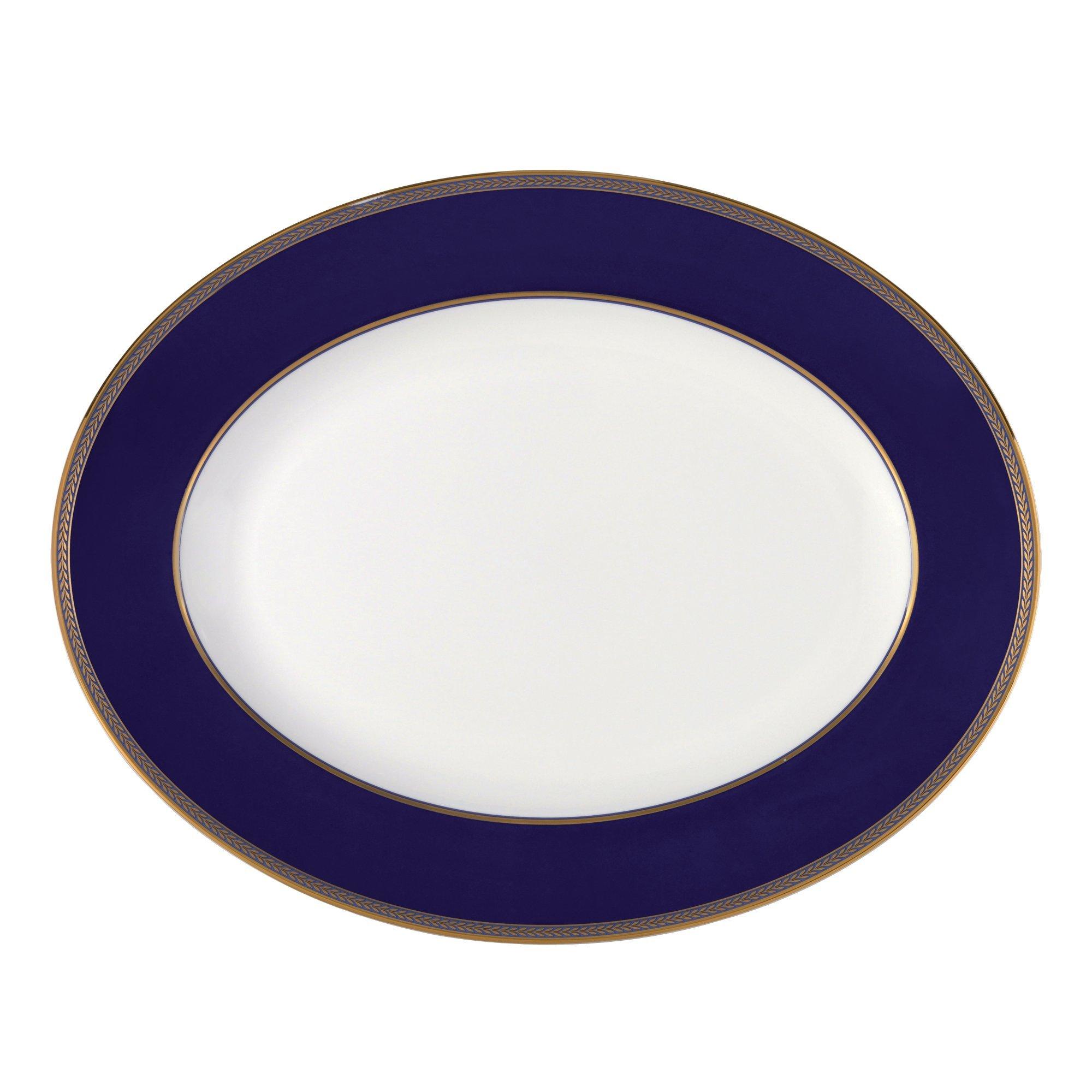 """Renaissance Gold Oval Platter 13.75"""""""