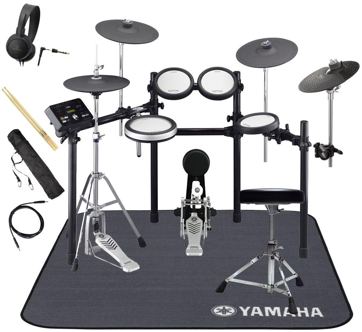 ファッションデザイナー YAMAHA 電子ドラム DTX562KFS 3シンバル 3シンバル オリジナルスターターパック 純正マットセット 電子ドラム B07G1381B8 B07G1381B8, いーでん:bd6a1208 --- newtutor.officeporto.com