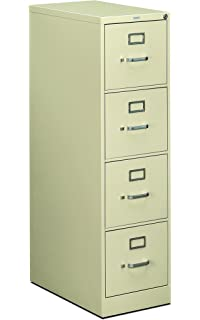 HON 4 Drawer Filing Cabinet   510 Series Full Suspension Letter File Cabinet ,