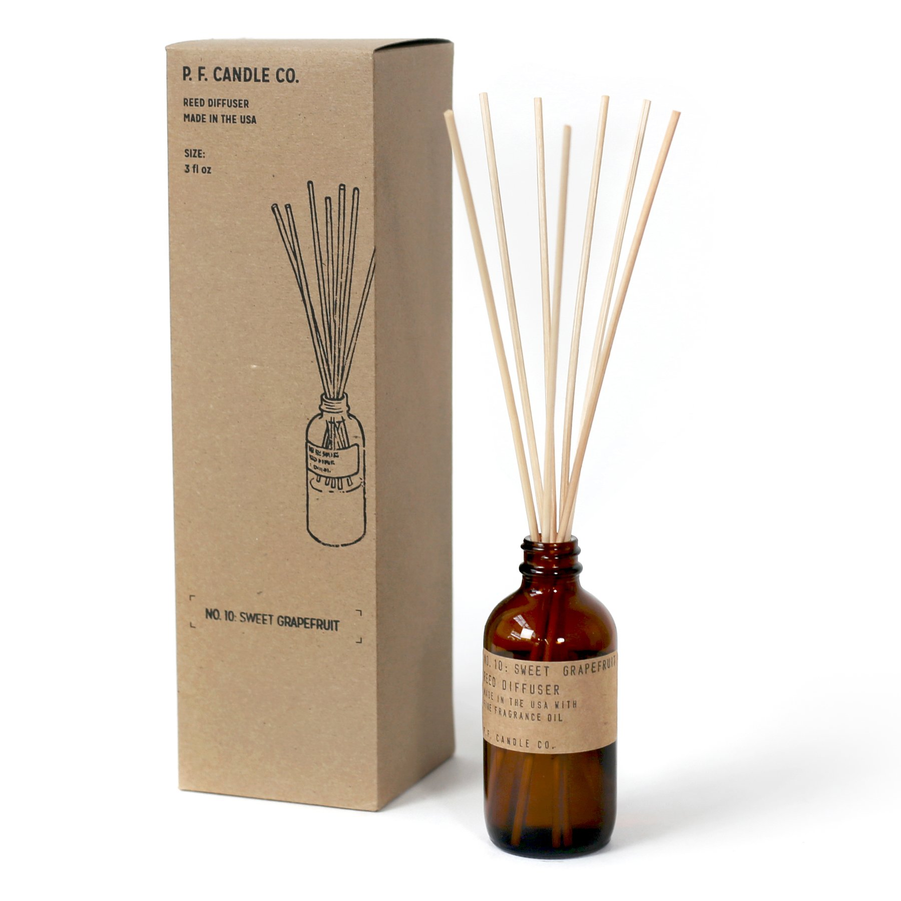 P.F. Candle Co. - No. 10: Sweet Grapefruit Diffuser by P.F. Candle Co. (Image #2)