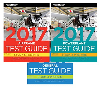 ASA AMT Test Guide Bundle - Airframe, Powerplant & General