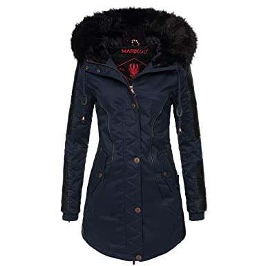 finest selection 665d4 61e5e Marikoo - B372 Caldo giaccone invernale parka da donna