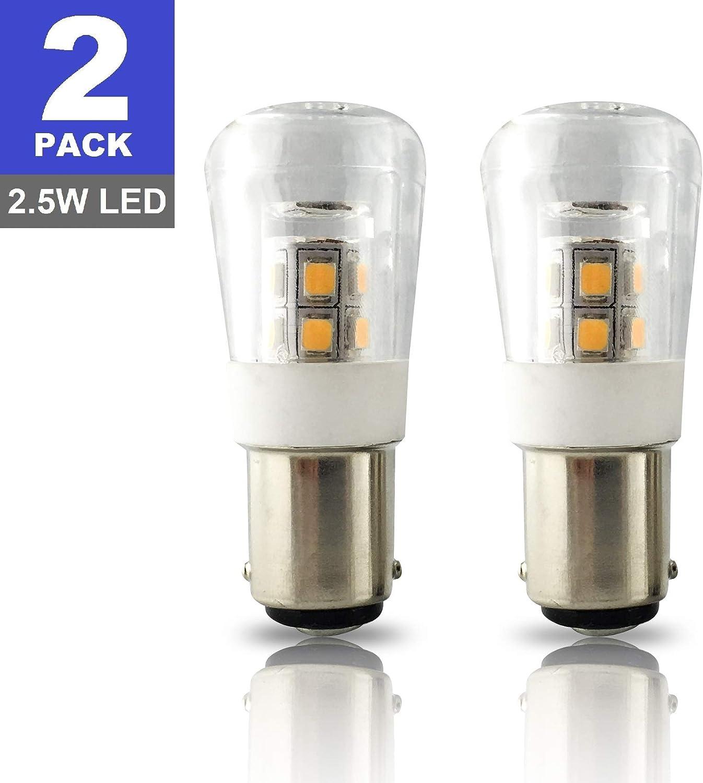 2 Pack of Ancor Marine Grade 12 volt 7.5 Watt #90 Light Bulbs