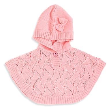 Amazon com: Baby Girls Poncho Sweater: Clothing