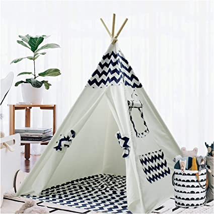 Colourful and Fun Outdoors Play Tent Wigwam Kids Play Tent Easy to Assemble