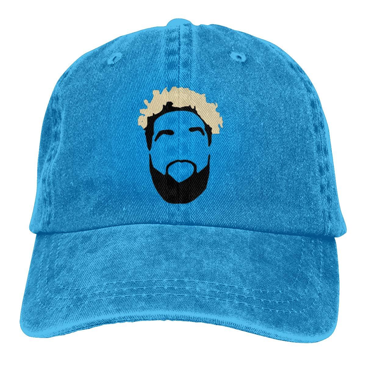 NCEUANCE Cleveland Beckham Face Caps Sports Trucker Caps Pattern Strapback Hat for Men//Women