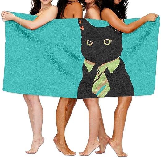 FbaPan Animals Gatos Vector Corbata Meme Business Cat Toallas de ...