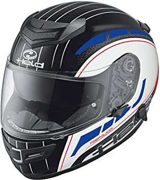 Held Brave 2 – Casco de motorista, color blanco de color rojo de color azul