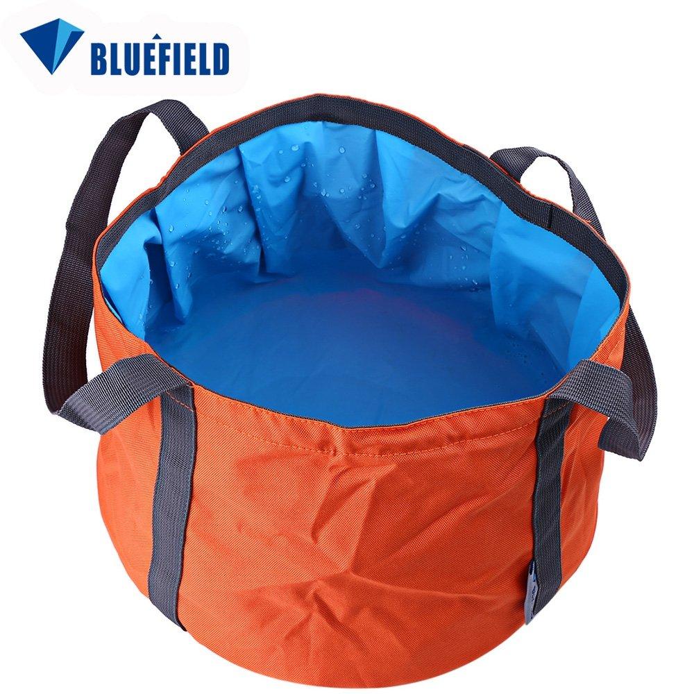 SZYT Outdoor folding washbasin bucket camping travel supplies portable washbasin storage bag 11L