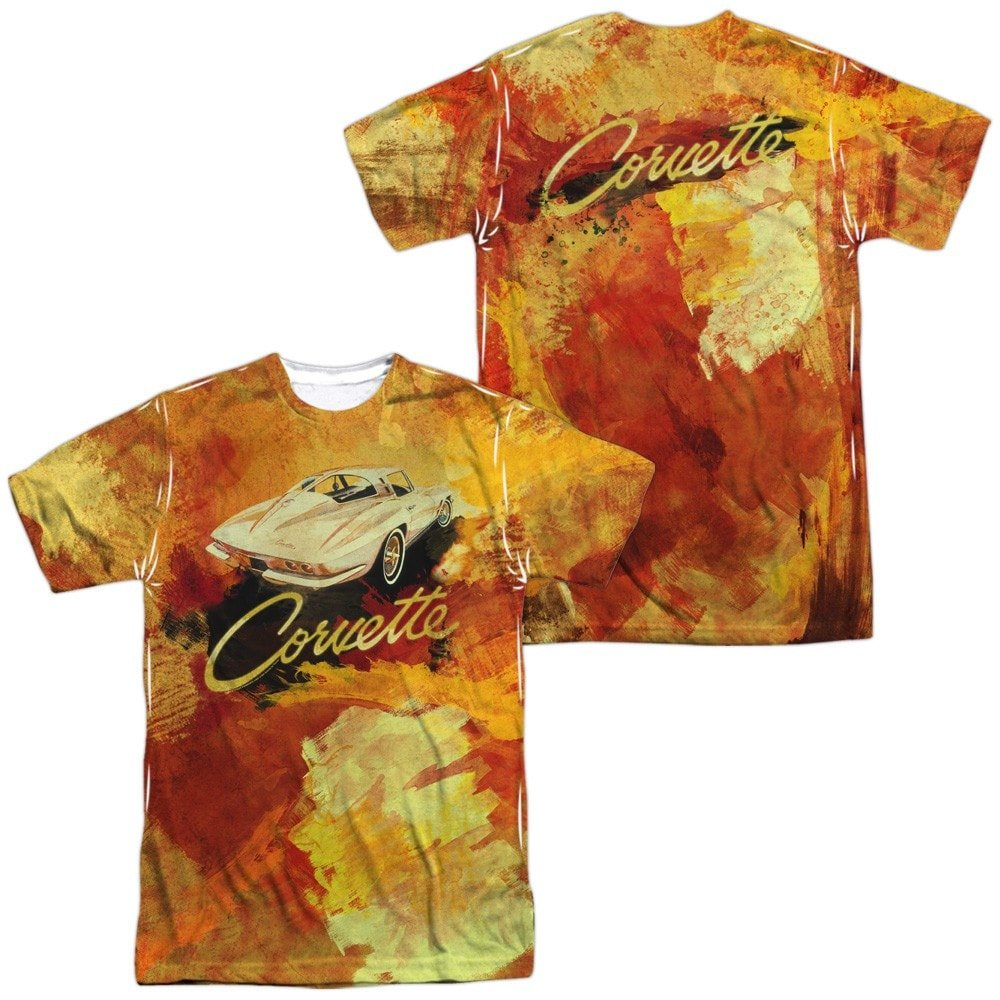 Chevy Painted Sting Ray Adult All Over Print 100/% Poly T-Shirt