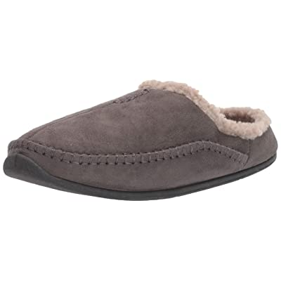 Deer Stags Men's Nordic Clog Slipper (11.5 D(M) US, Charcoal) | Mules & Clogs