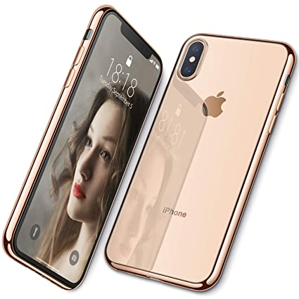 esr iphone xs case gold