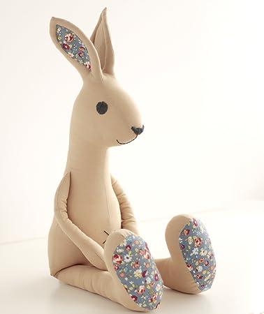 Kaninchen Hase Schnittmuster mit Schritt-für-Schritt-Illustrationen ...