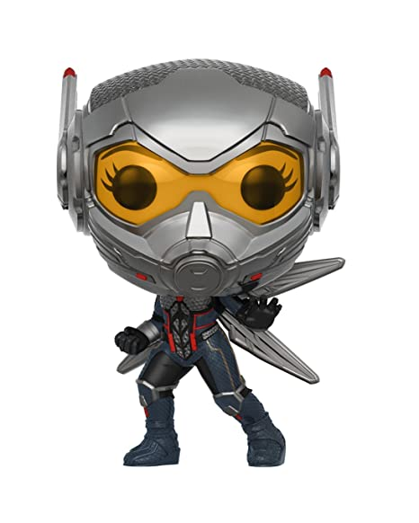 Funko- Pop Bobble: Marvel: Ant-Man & The Wasp w/Chase, Multicolor, Standard (30730)