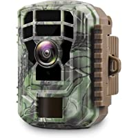 $53 » Campark Mini Trail Camera 1080P HD Game Camera Waterproof Wildlife Scouting Hunting…