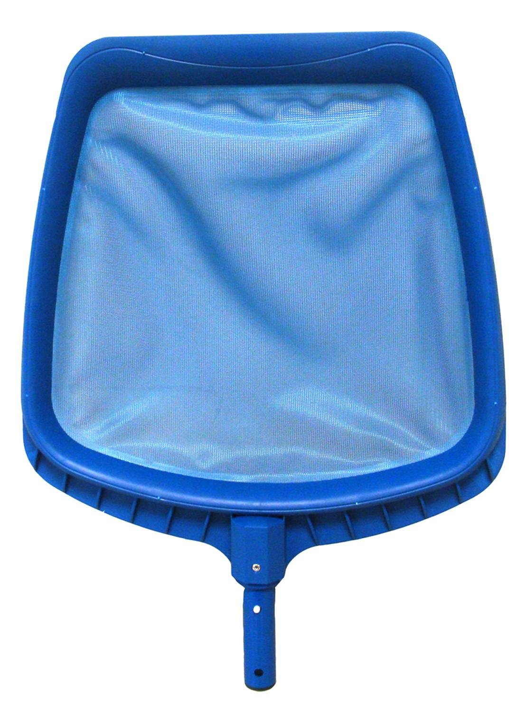NorthLight 14 in. Heavy-Duty Blue Plastic Swimming Pool Leaf Skimmer Head Pool Central