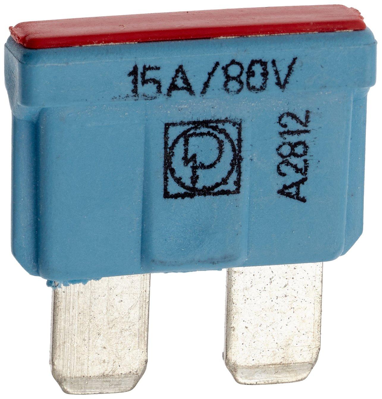 80V 365382 Flachstecksicherung Kfz Mehrfarbig 50104 VS-ELECTRONIC 15 Amp