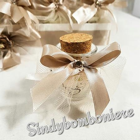 Foto Bomboniere Matrimonio.2 Vasetti Portaconfetti Per Bomboniere Matrimonio A Forma Di