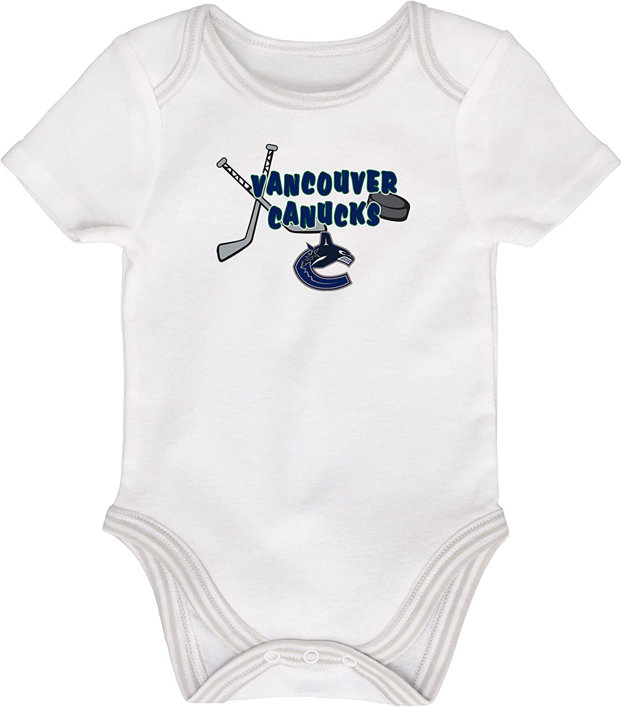 Vancouver Canucks Newborn 3rd Period 3-Piece Creeper Set