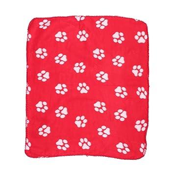 UEETEK Manta de mascota para perro gato, de doble cara Mantas de lana para dormir Manta ...