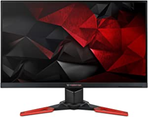 Acer Predator XB271H bmiprz 27-inch Full HD (1920x1080) NVIDIA G-SYNC Monitor (Display Port & HDMI Port, 144Hz)