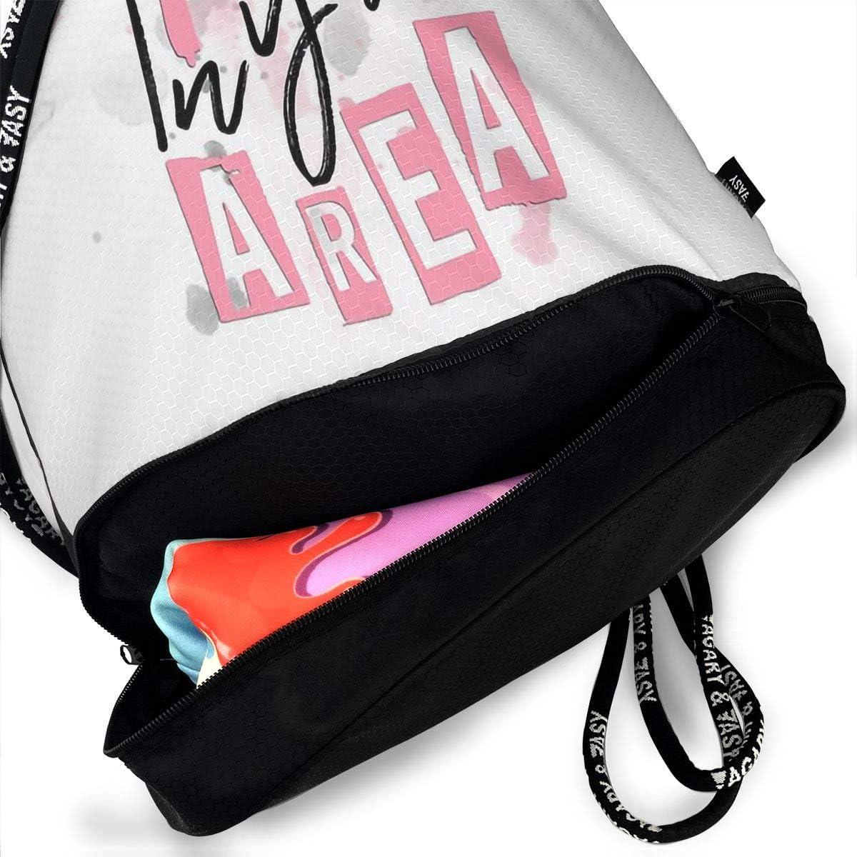 Drawstring Backpack Blackpink Gym Bag