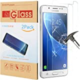 Samsung Galaxy J5(2016)Screen Protector,Galaxy J5 Tempered Glass Screen Protector for Galaxy J5(2016) 2-Pack Premium Clear 9H Hardness with lifetime replacements