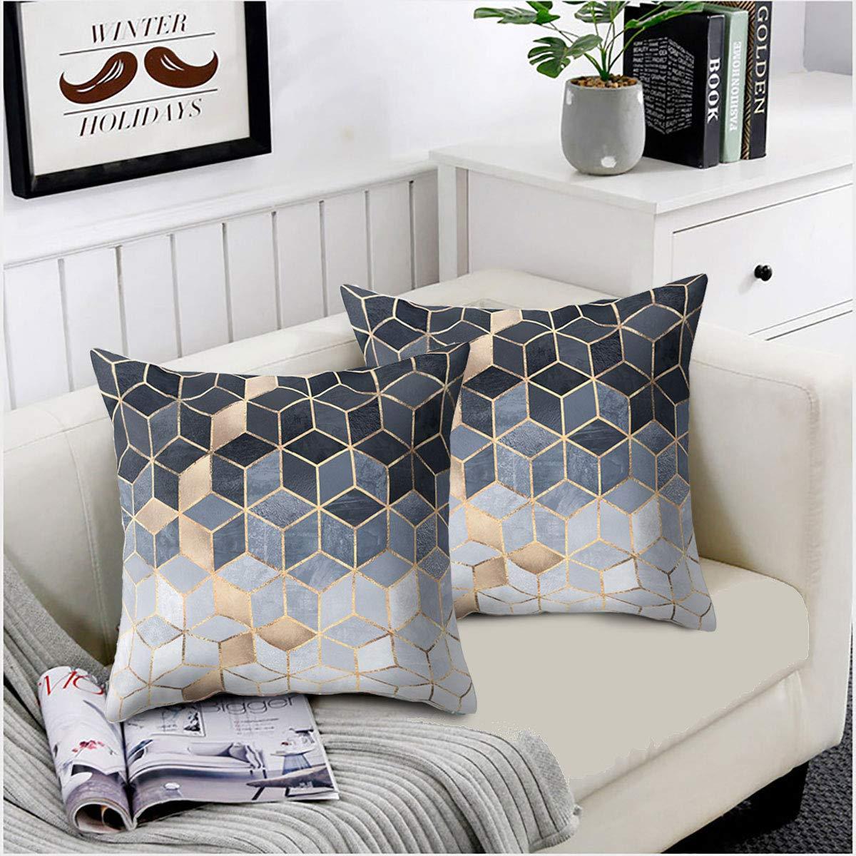 Amazon.com: Convallaria - Juego de 2 fundas de almohada para ...