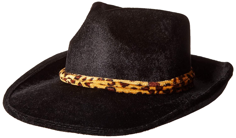 Amazon.com  Forum Novelties Men s Novelty Velvet Fedora Hat with Band d39abf8de0b