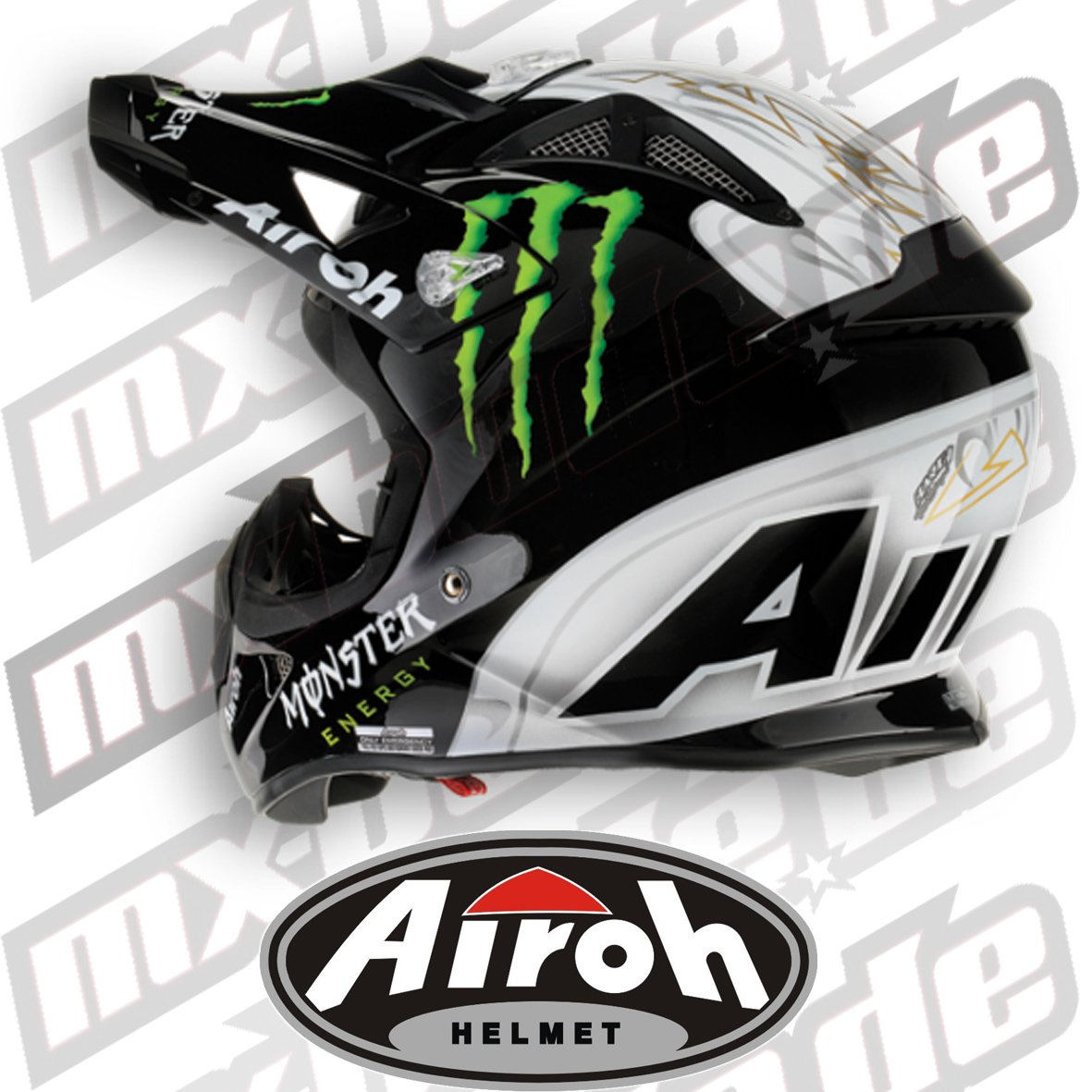 Airoh - Airoh Aviator Monster - Casco Cross - Talla : Xl (61/62): Amazon.es: Coche y moto