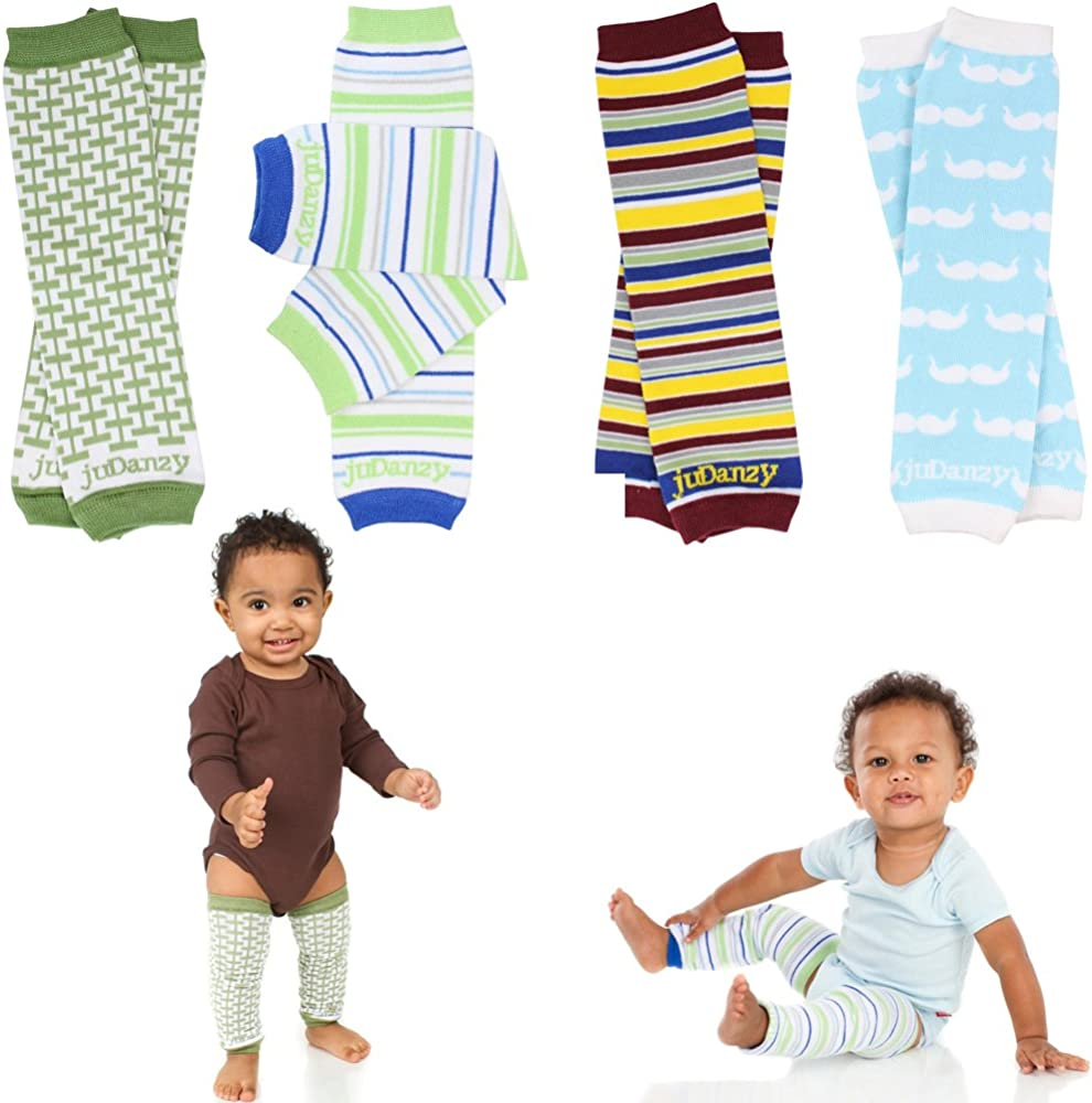 Newborn 6 Pack juDanzy Baby Leg Warmers