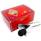 Three King Charcoal -33 mm Premium Hookah Incense Charcoal Coals, 2 Box of 100 Piece, Total 200 Piece