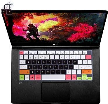 Funda de silicona para teclado LG Gram 14 14Z90N 14Z970 ...