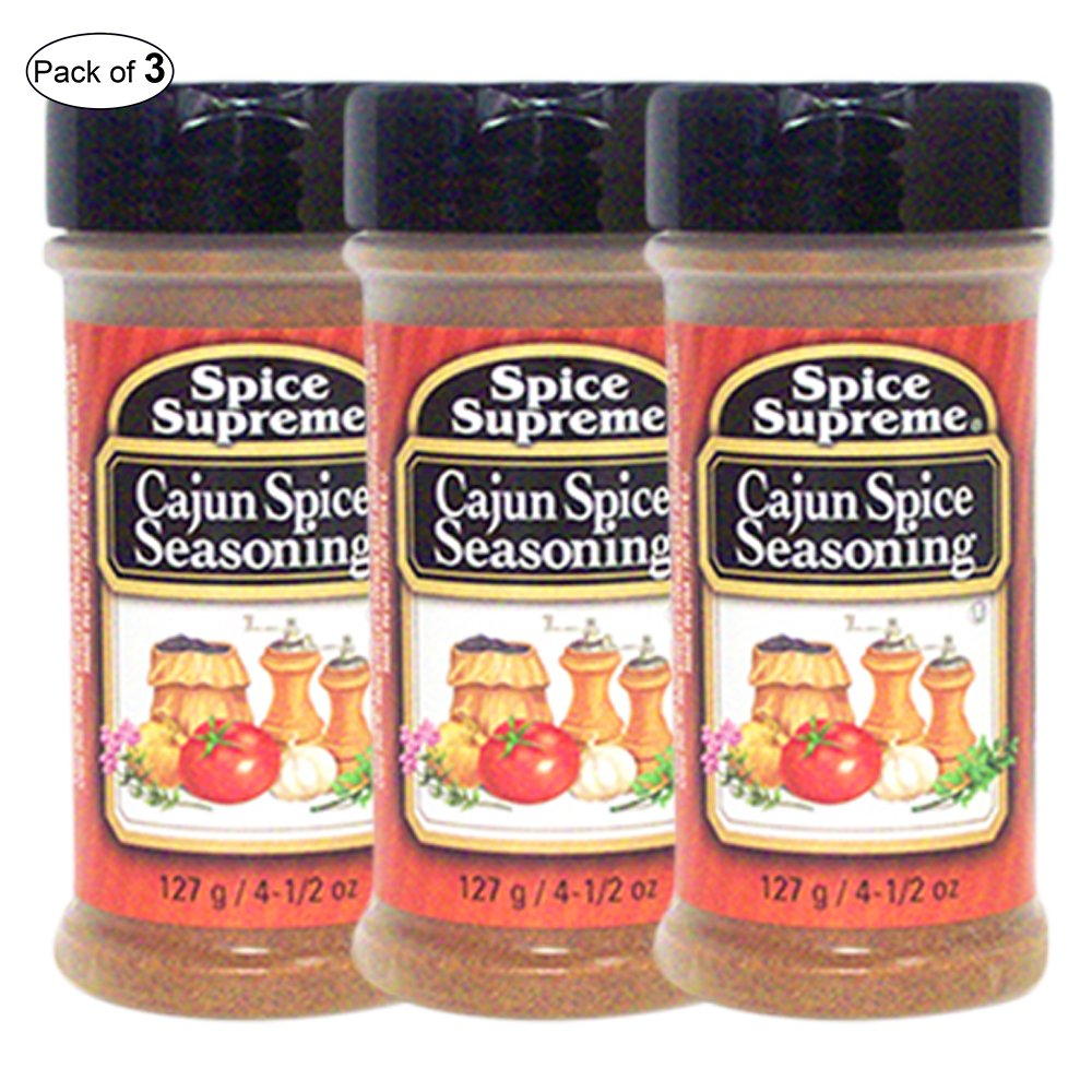 Spice Supreme- Cajun Spice Seasoning (127g) (Pack of 3)