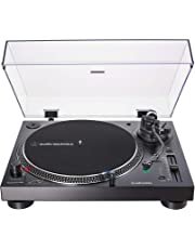 Audio-Technica AT-LP120XUSB-BK Direct-Drive Analog & USB Turntable (Black)
