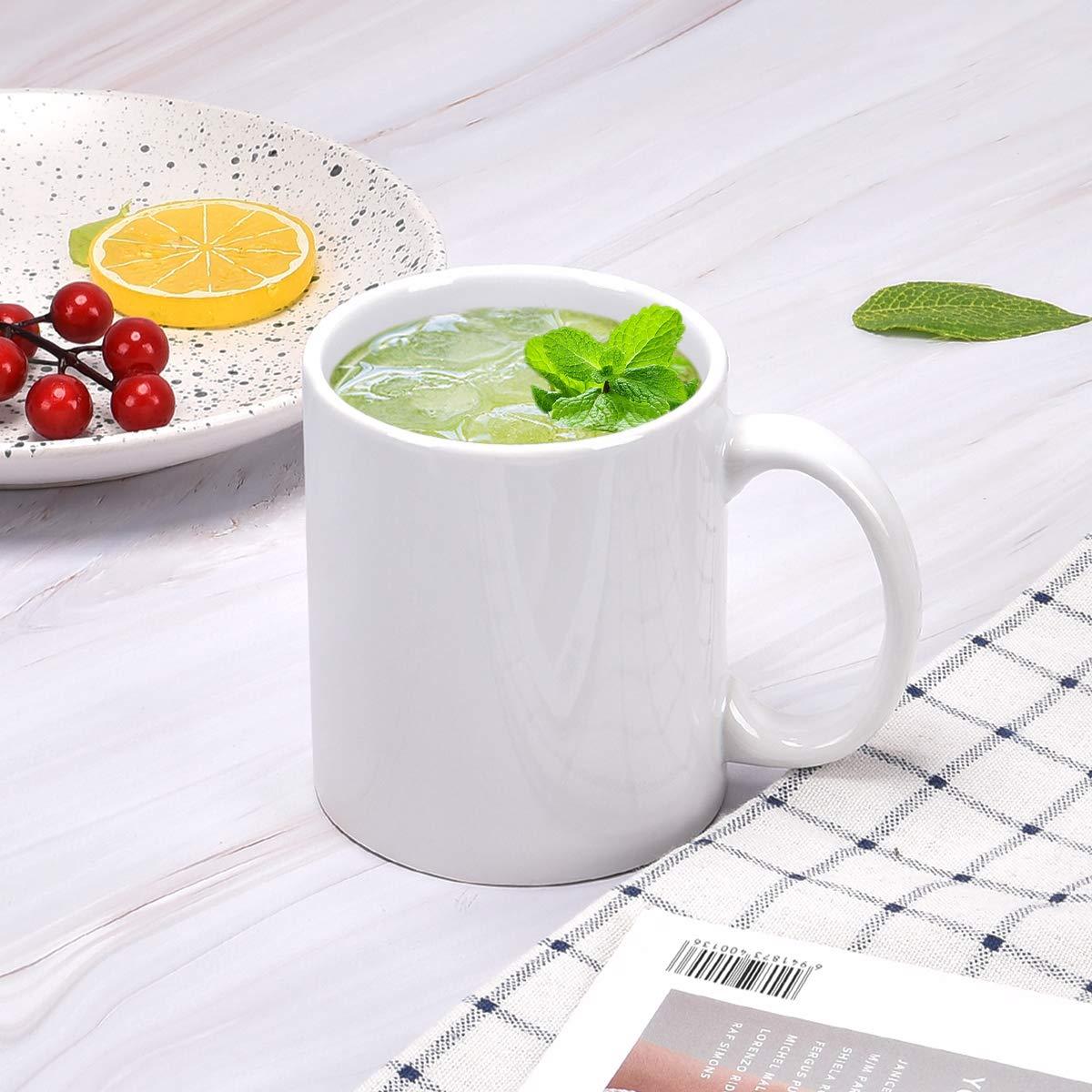 Coffee Mug Set Assorted Colors Tea Mugs Set of 6 Coffee Tea Cups for Home Family Restaurant 13 Ounce Ceramic Coffee Mugs