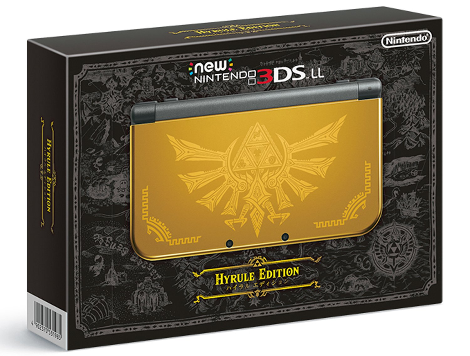 New Nintendo 3DS LL Hailar edition (Japanese Imported Version - only plays Japanese version games) [Japan Import] by 任天堂 (Image #1)
