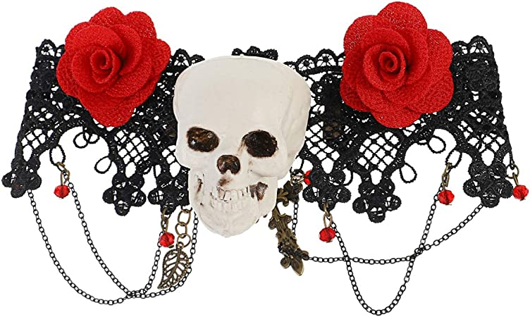handmade Glamor, gothic, lolita, original, octopus organic and sophisticated! Silicone necklace with roses and tentacles  unique