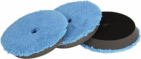 6 Inch Buffing Compound Polishing Pad Kit 3Pcs Buffing Sponge for Car Polisher