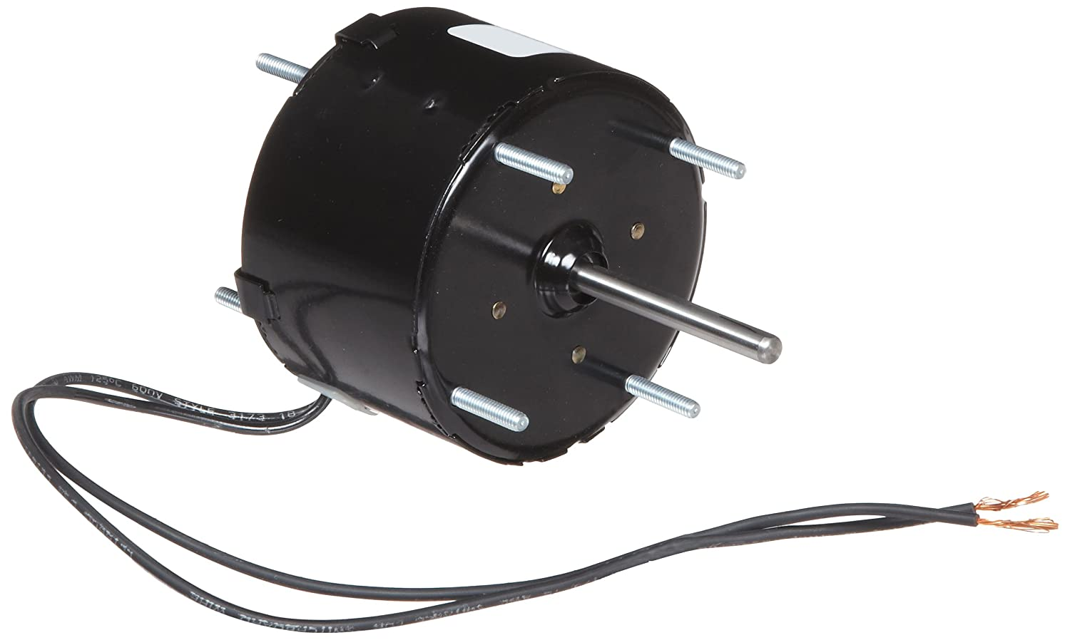 1500rpm 1//80HP 115V 0.6 amps Fasco D123 3.3 Frame Totally Enclosed Shaded Pole General Purpose Motor with/Sleeve Bearing 60Hz CCW Rotation