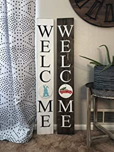 EricauBird Wood Sign -8x60cm, Celebrate Everything Interchangeable Holiday and Season Welcome Sign. Interchangeable Home Sign.Choose one Sign,Wall Art