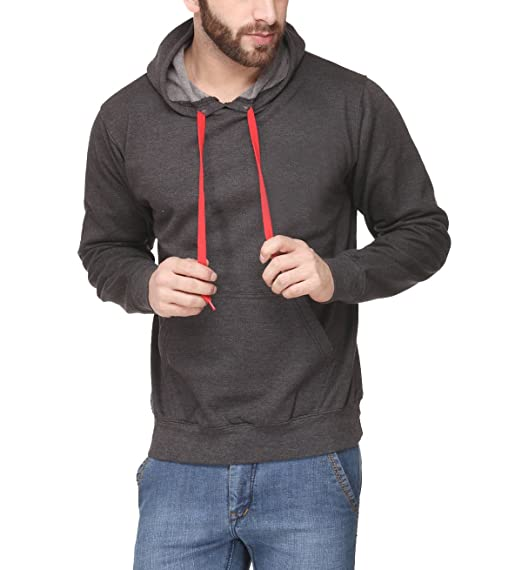 Pullover Hoodie Charcoal Grey