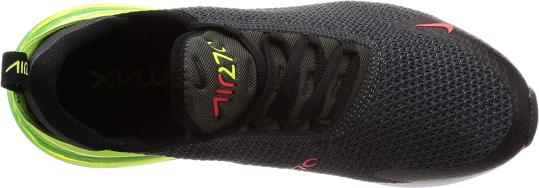 Nike Air Max 270 Se, Scarpe da Atletica Leggera Uomo Multicolore Anthracite Volt Black Bright Crimson 000