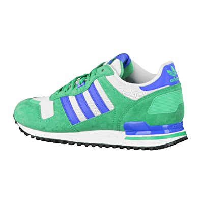 05fa5e95b8bfb Adidas ZX 700 SurGrn Blubir Ftwwht Green 44  Amazon.co.uk  Shoes   Bags