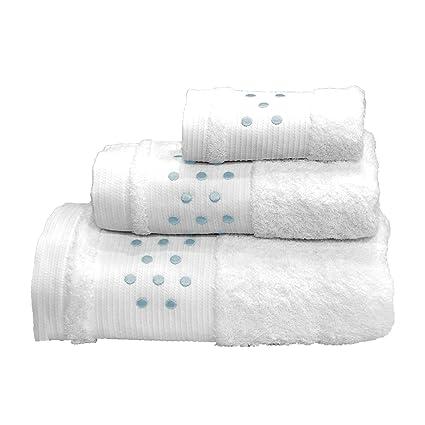 Lunares Toallas De Baño – 3 Pieces Set – Toalla de mano, toalla de baño
