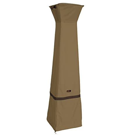 Classic Accessories Hickory Heavy Duty Pyramid Torch Patio Heater Cover    Durable And Water Resistant Patio
