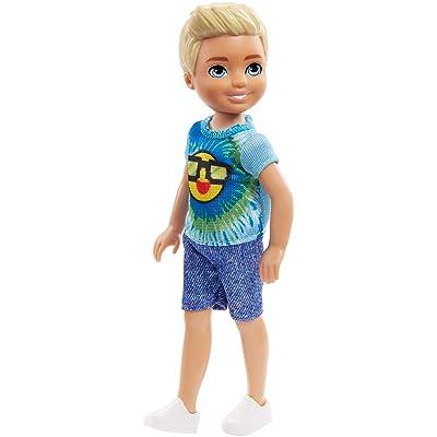 Barbie Club Chelsea Boy Doll, Emoji Tie Die: Toys & Games [5Bkhe2006919]